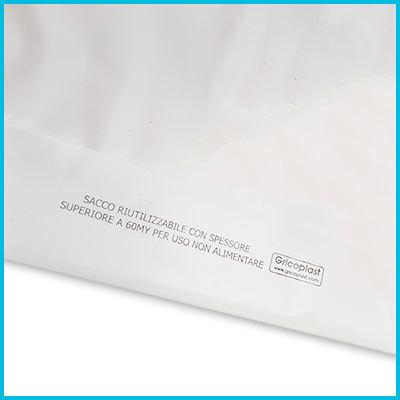 acb7b24d96 Buste Plastica Personalizzate All Inclusive 100kg 1 Colore Economy